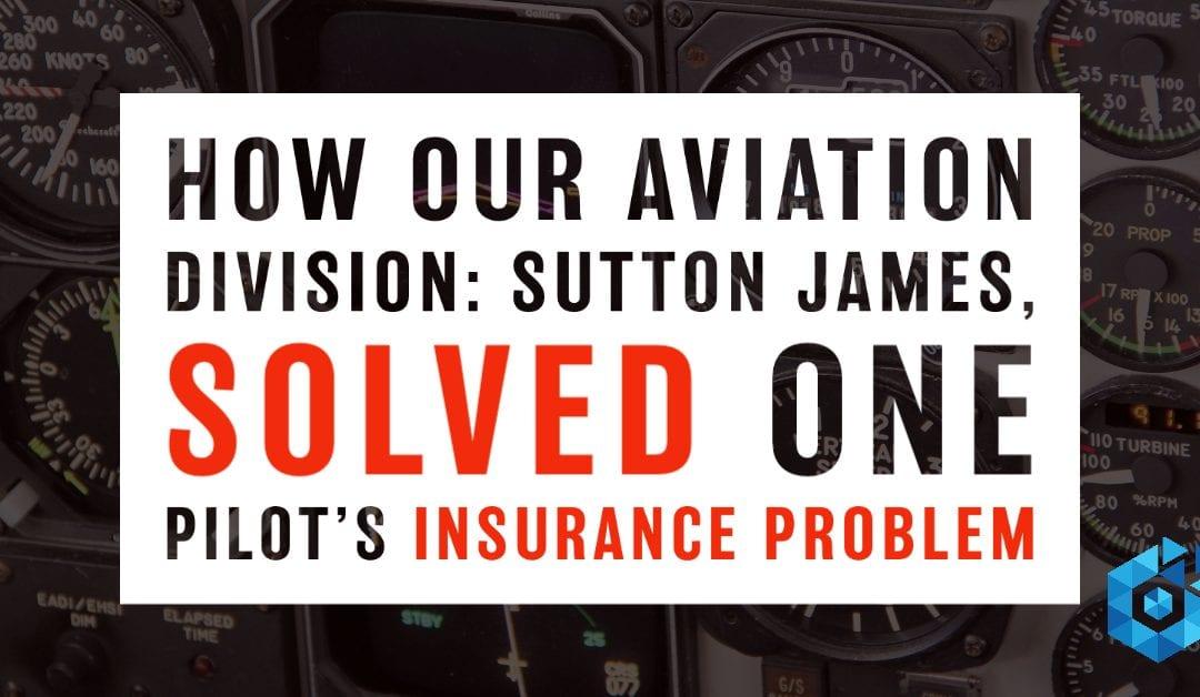 How Optisure Solved a Cessna Pilots Insurance Problem